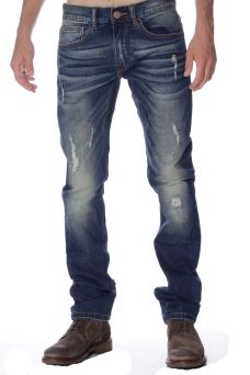 Pantalone Uomo Denim Blue Raw Sun68 26187