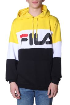 Felpa Uomo Fila 687001 Night Blocked Hoody PESD