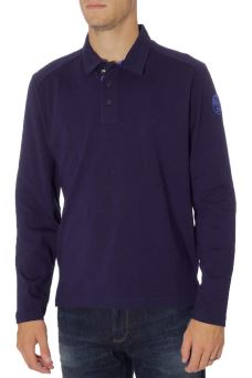 Polo Uomo L/S W/Patch North Sails 69-4342