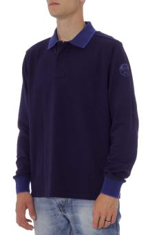 Polo Uomo L/S W/Patch North Sails 69-4346
