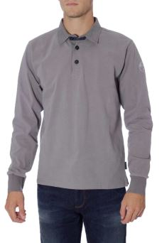 Polo Uomo L/S W/Patch North Sails 69-4395