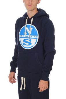 Felpa Uomo Lowell Sweat Hoodie North Sails 69-4588