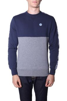 Felpa Uomo Round Neck North Sails 691358 AISD
