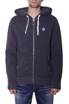 Felpa Uomo North Sails Hodded Full Zip 692019 AISN