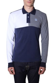 Polo Uomo L/S W/Contrast North Sails 692227 AISD