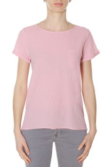 T-Shirt Donna Shirt Round Light Sun68 S18218 PESN