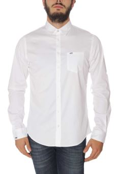 Camicia Uomo Solid Cotton Sun68 SH019
